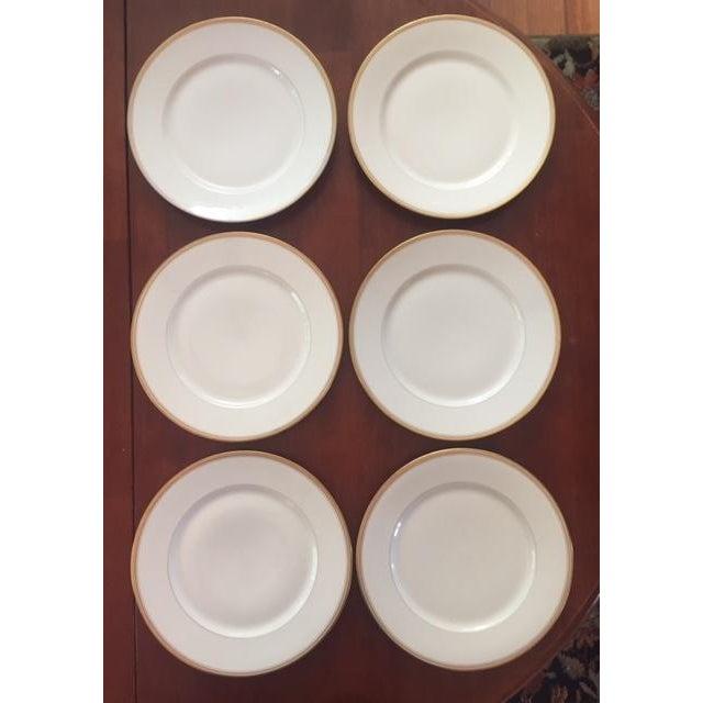 Antique Limoges France Dinner Plates - Set of 6 - Image 8 of 9