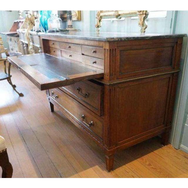 Louis XVI Commode/Desk For Sale - Image 4 of 10