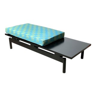 1950s Vintage Ebony Floating Bench For Sale