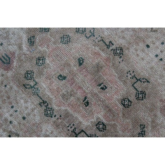 Red Vintage Hand Knotted Anatolian Rug For Sale - Image 8 of 10
