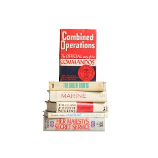 Military Specialists' Books - Set of 6