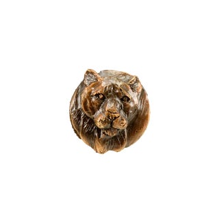 Cougar Knob with Traditional Patina For Sale