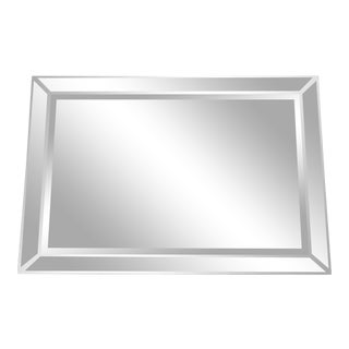 Mirrored Frame Wall Mirror For Sale