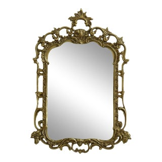 Friedman Brothers 5037 Gold Framed Decorative Mirror For Sale