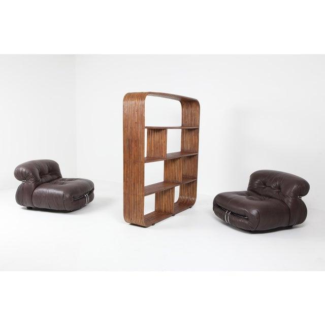 Bamboo étagère Room Divider Henry Olko - 1970 For Sale - Image 4 of 9