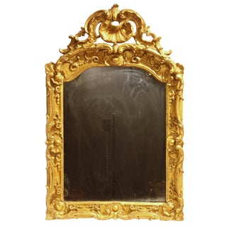 A Regence Period Giltwood Mirror from Provençe For Sale
