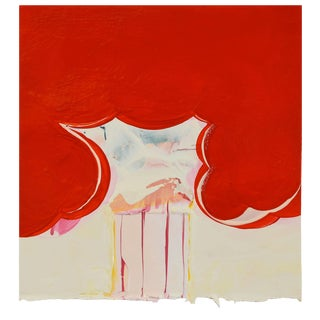 "Anya Spielman ""Flame"" Painting For Sale"
