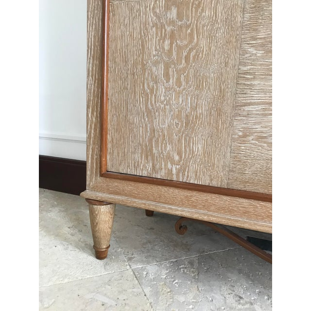 1940s Mid Century French Cerused Cabinet For Sale - Image 9 of 11