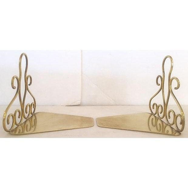 Tschappu Glarus Brass Bookends - a Pair - Image 4 of 7