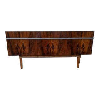 Mid Century Danish Rosewood Credenza in the style of Ib Kofod-Larsen For Sale