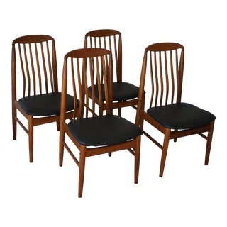 Danish Mid-Century Benny Linden Bl10 Teak Dining Chairs - Set of 4 For Sale