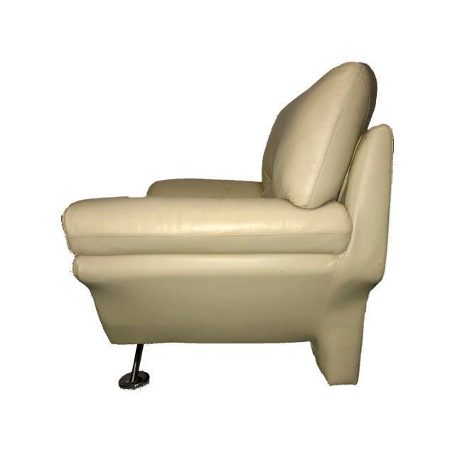Naugahyde Atomic Club Chair - Image 4 of 10