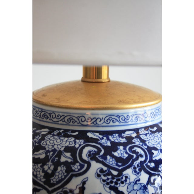 Stunning blue & white Marlena lamps by Ralph Lauren for Visual Comfort. Brand New - Excellent Condition SPECIFICATIONS...