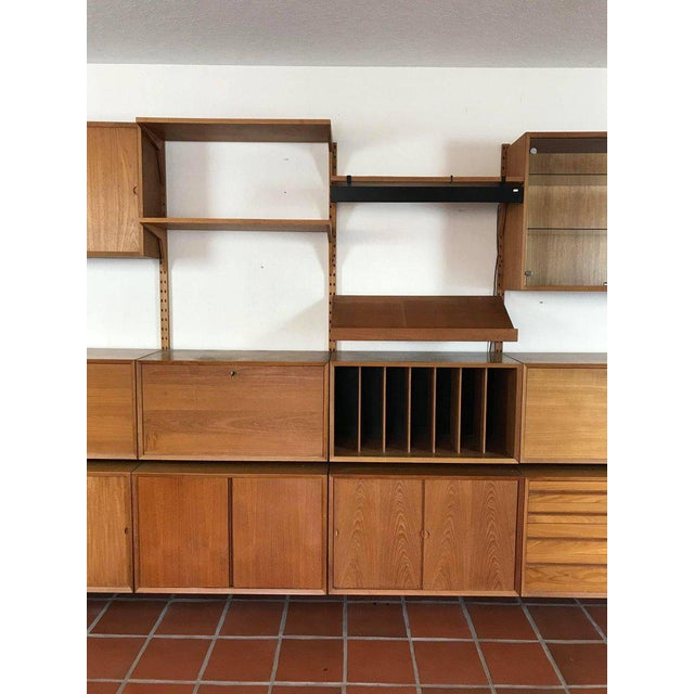 """1960s Danish Poul Cadovius """"System Cado"""" Teak Floating Modular Wall Shelf System For Sale In Portland, OR - Image 6 of 13"""