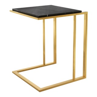Gold Finish Side Table | Eichholtz Cocktail For Sale