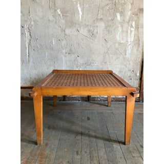 Geometric Cutout Wooden Coffee Table Preview