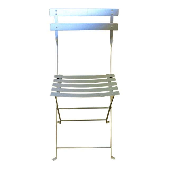 Fermob Bistro Grey Chair For Sale