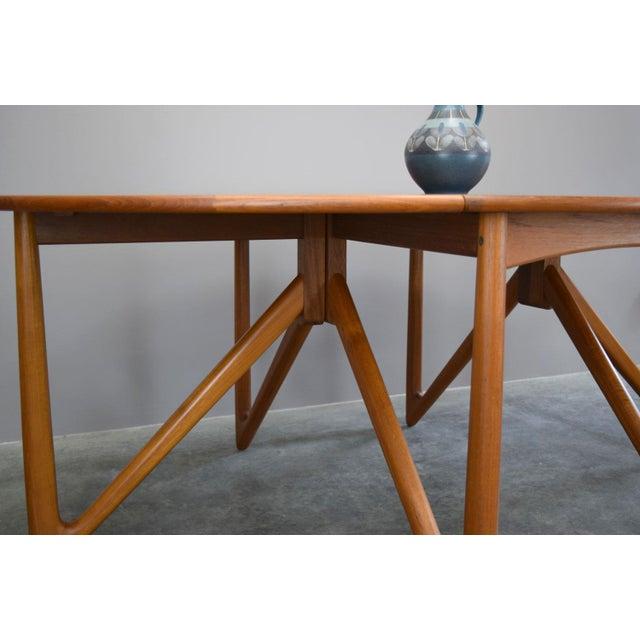 On Hold - Niels Koefoed / Kurt Østervig Danish Teak Dining Table - Image 6 of 11