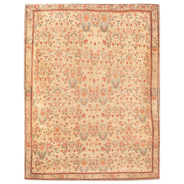 Exceptional 19th Century Persian Zili Sultan Rug For Sale