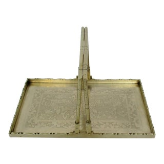 Chinese Brass Tray For Sale