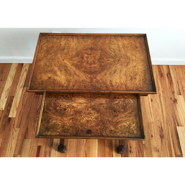 Vintage Drexel Heritage Nesting Tables - A Pair For Sale In Denver - Image 6 of 9