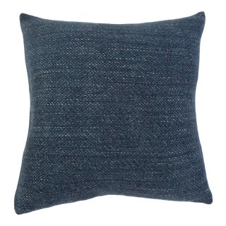 """Hendrick 20"""" Pillow with Insert in Navy For Sale"""