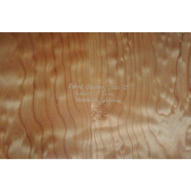 Robert Erickson Signed Van Muyden Arm Chair - Image 5 of 6