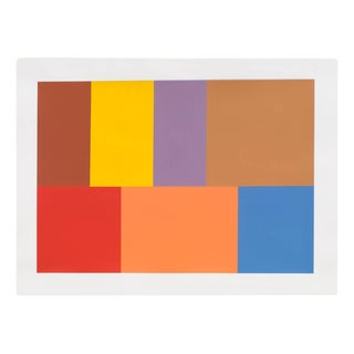 "Tom McGlynn ""Test Pattern 7 (Siena)"", Painting For Sale"