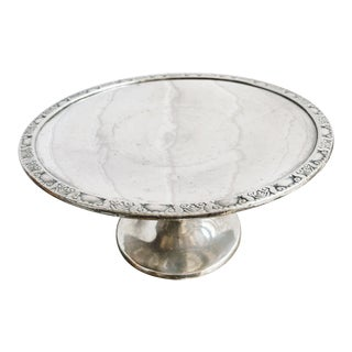 1931 Silver Plated Cake Stand from the Waldorf Astoria Hotel For Sale