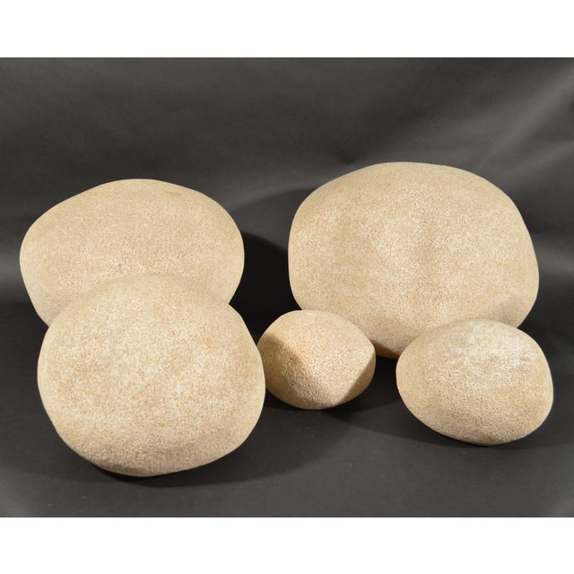Contemporary Andre Cazenave for Atelier A Dora Lighting Stones - Set of 5 For Sale - Image 3 of 7