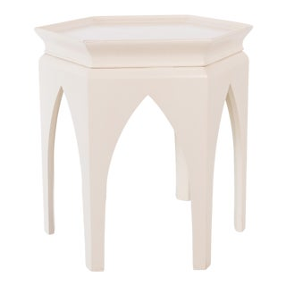 Moroccan-Style Baker Furniture Side Table For Sale