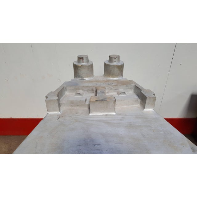 1930's Vintage Architectural Silvered Foundry Garden Model For Sale In Buffalo - Image 6 of 8