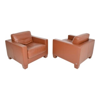 De Sede Leather Lounge Chairs