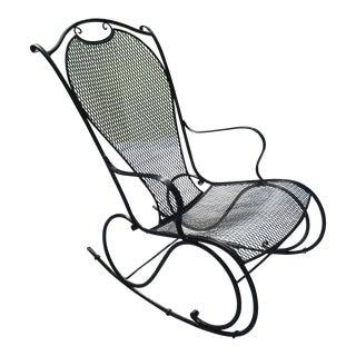 Russell Woodard for Sculptura Rocking Chair