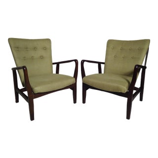 Pair of Mid Century Style Chairs For Sale