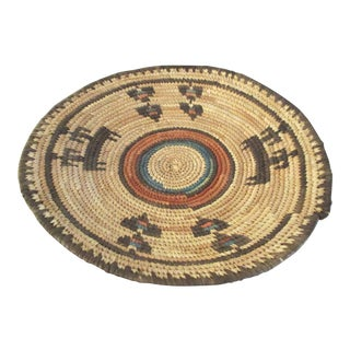 Vintage African Tribal Basket