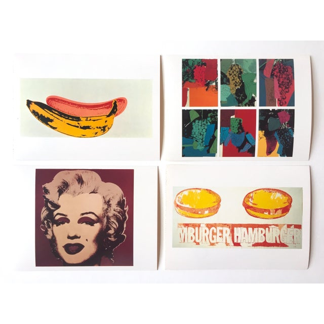 "Andy Warhol Vintage 1989 Pop Art ""AW Estate Foundation"" Postcard Prints - Set of 12 - Image 4 of 9"