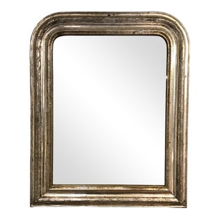 19th Century Antique Wall Mirror For Sale
