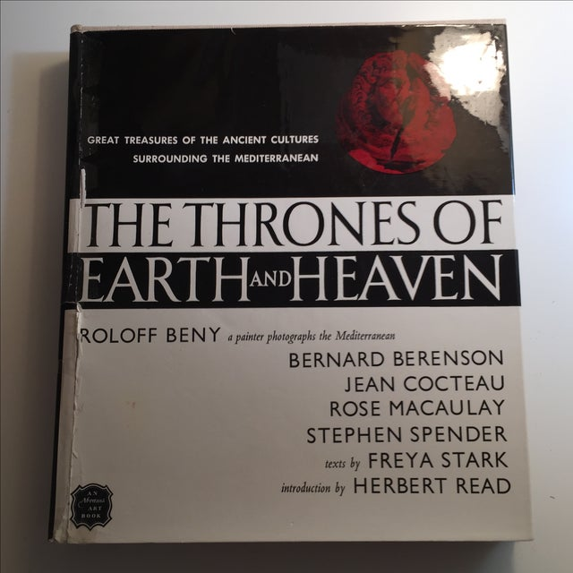 A very lovely book of photographs by Roloff Beny and writings by noted authors and thinkers. The Thrones of Earth and...
