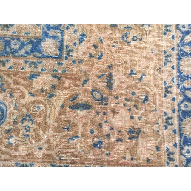 Vintage Antique Handmade Oversize Tribal Persian Rug - 9′10″ × 12′1″ For Sale - Image 10 of 12