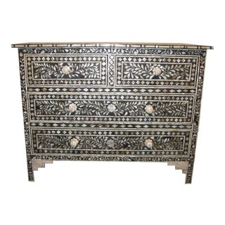 Sang and Serena Mother of Pearl Inlaid Chest of Drawers