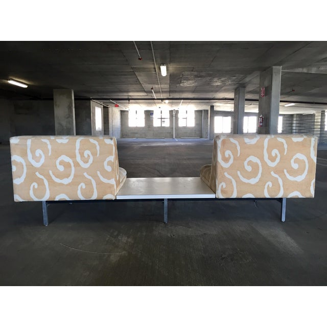 George Nelson Herman Miller Sofas With Center Tables - A Pair - Image 6 of 11