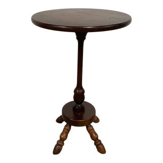 20th Century Traditional Round Side Table For Sale
