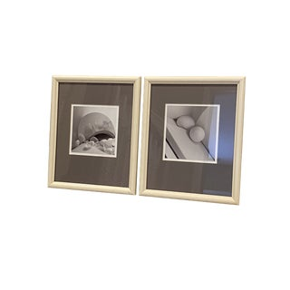 Still Life Black and White Photography - Set of 2 For Sale