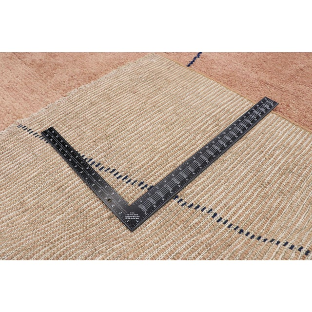 Early 21st Century Moroccan Contemporary Rug - 10'00 X 13'06 For Sale - Image 5 of 10