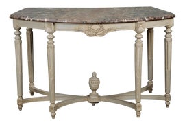 Image of Shabby Chic Demi-lune Tables