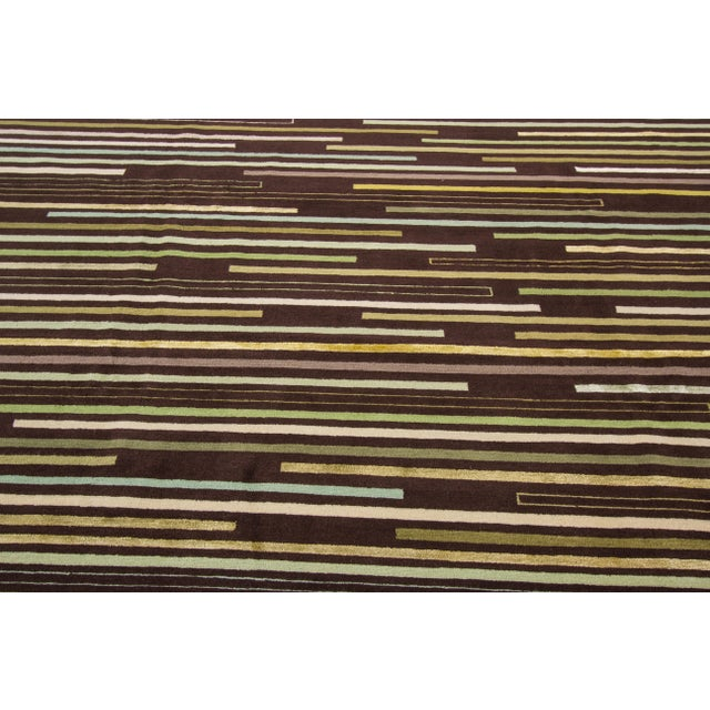 Apadana Tibetan Rug - 8' x 10' For Sale - Image 4 of 7