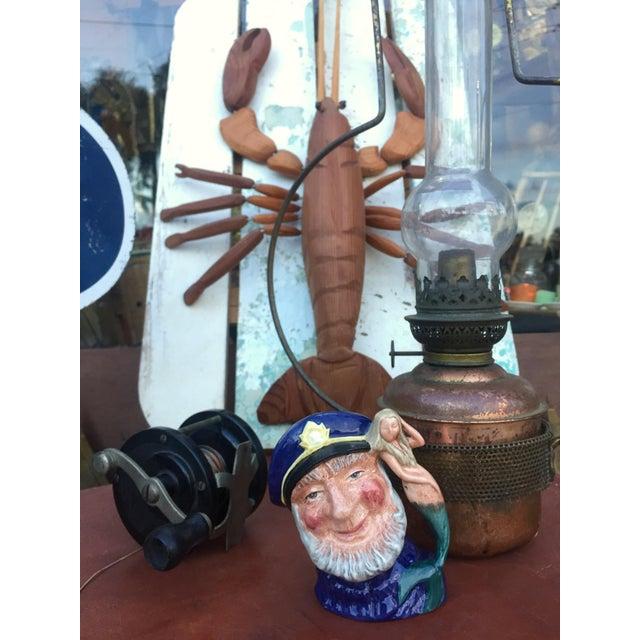 Vintage Sea Captain & Mermaid Mug For Sale - Image 5 of 6