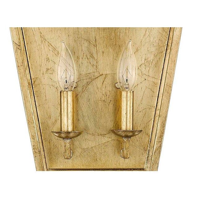 Ponce City 2 Light Sconce, Gilded Gold For Sale In Atlanta - Image 6 of 8