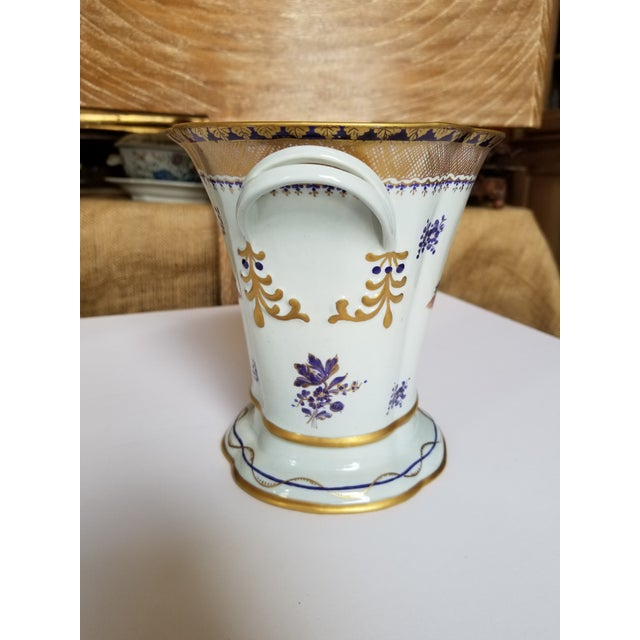 White Chinese Export Style Vase by Mottahedeh For Sale - Image 8 of 11